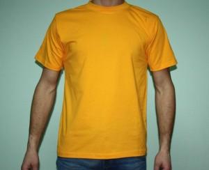 Футболка желтая
